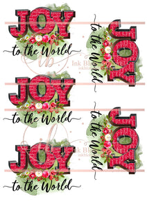 Floral Joy to the World