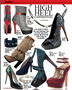 Anokhi Media - January, 2013  High Heel Confidential
