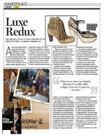 Footwear News: July 18, 2011: Luxe Redux