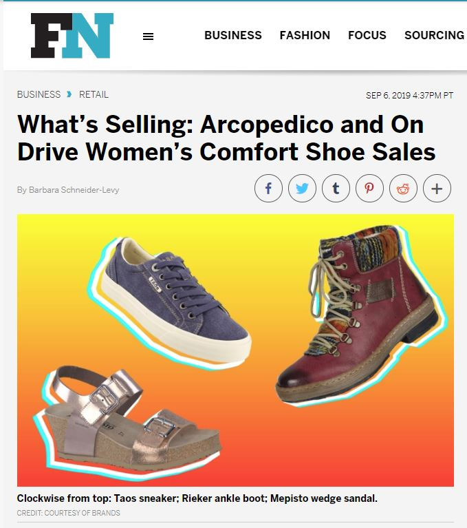 Footwear News September 6 2019