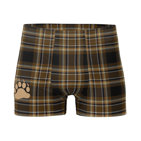 TARTAN BEAR Boxer Briefs Underwear