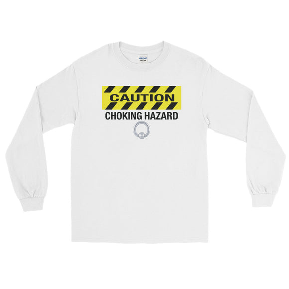 CHOKING HAZARD PA Long Sleeve T-Shirt