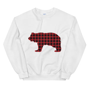 FLANNEL GRIZZLY RED Sweatshirt - Two on 3rd