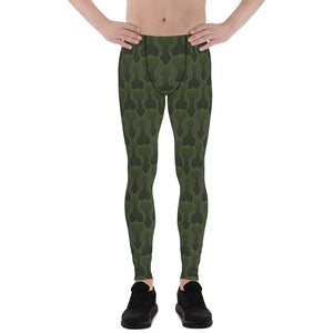 Camouflage Men's Leggings - Two on 3rd