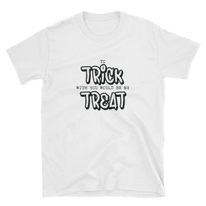 TRICK TREAT Short-Sleeve Unisex T-Shirt - Two on 3rd