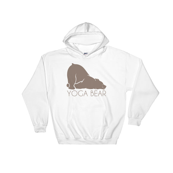 YOGA BEAR Hooded Sweatshirt - Two on 3rd