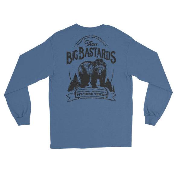 BIG BASTARDS Back Print Long Sleeve T-Shirt - Two on 3rd