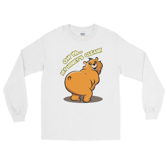 Clean Hiney Long Sleeve T-Shirt - Two on 3rd