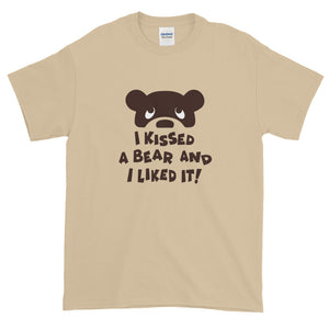 I KISSED A BEAR Short-Sleeve T-Shirt - Two on 3rd
