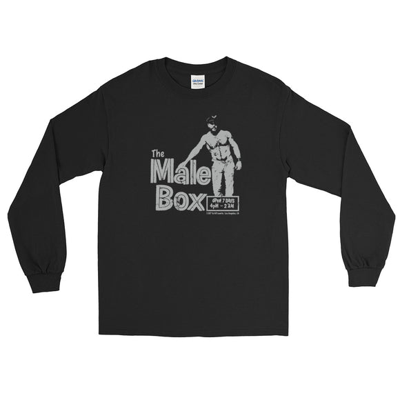 The Male Box Vintage Long Sleeve T-Shirt - Two on 3rd