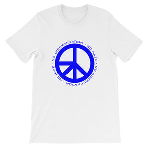 Blue NDNH Front Print Short-Sleeve Unisex T-Shirt - Two on 3rd