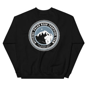 TRAPPING TEAM Back Print Sweatshirt - Two on 3rd