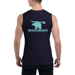 BEACH BOUND BACK PRINT - Muscle Shirt - Two on 3rd