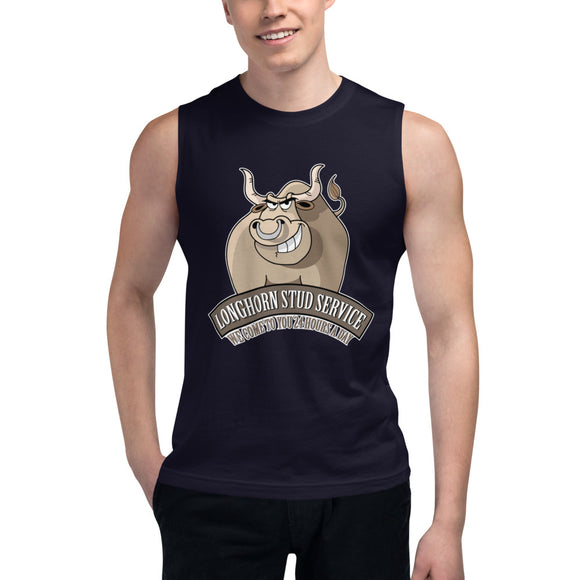 Stud Service Muscle Shirt