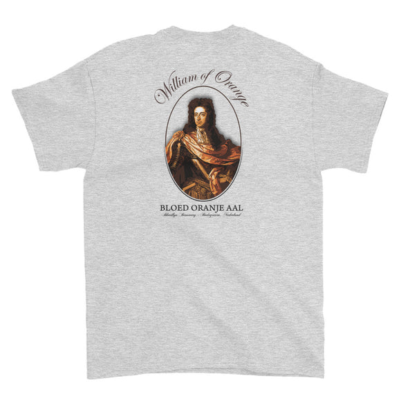 WILLIAM OF ORANGE Short-Sleeve T-Shirt - Two on 3rd