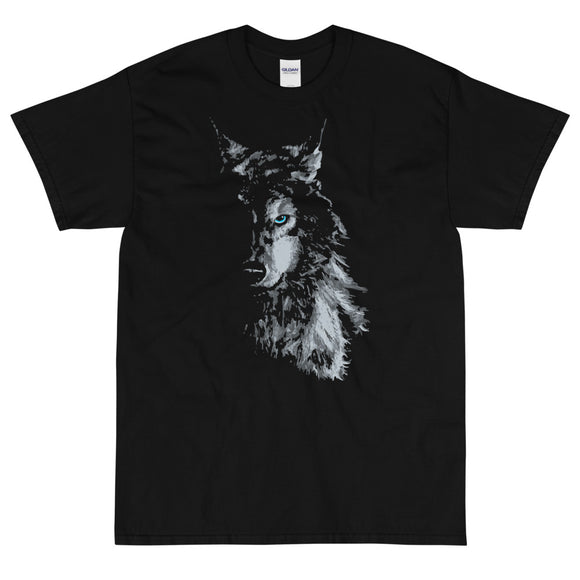 GREY WOLF Extended Sizes Short Sleeve T-Shirt