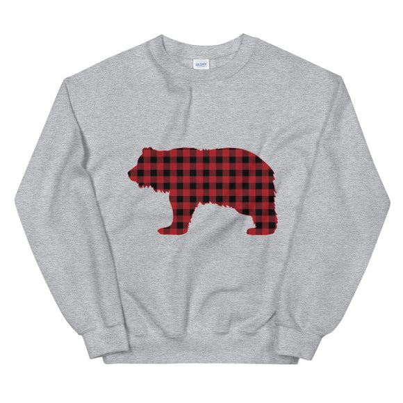 FLANNEL GRIZZLY RED Sweatshirt