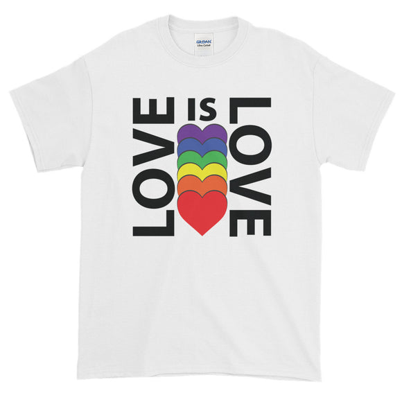 LOVE IS LOVE Short-Sleeve T-Shirt - Two on 3rd