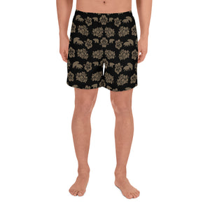 PARADISE 2 All-Over Print Men's Athletic Long Shorts - Two on 3rd