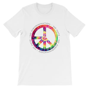 Tye Dye NDNH Front Print Short-Sleeve Unisex T-Shirt - Two on 3rd