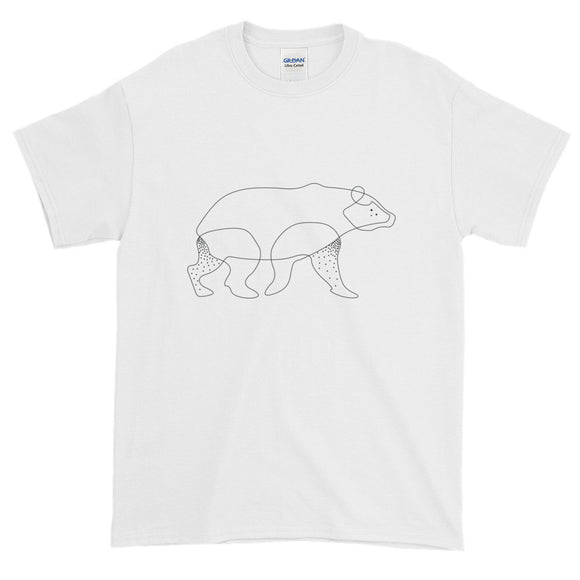 Bear Lines Short-Sleeve T-Shirt