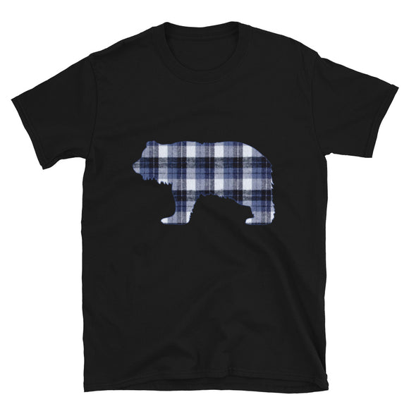 FLANNEL GRIZZLY BLUE Short-Sleeve T-Shirt - Two on 3rd