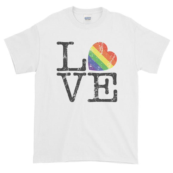 PRIDE LOVE Short-Sleeve T-Shirt - Two on 3rd