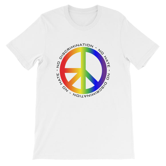 Pride NDNH Front Print Short-Sleeve Unisex T-Shirt - Two on 3rd