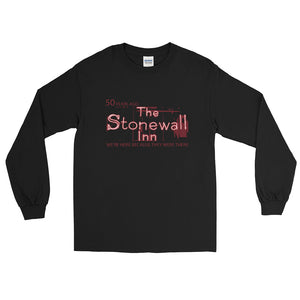 Stonewall 50 Years Ago Long Sleeve T-Shirt - Two on 3rd
