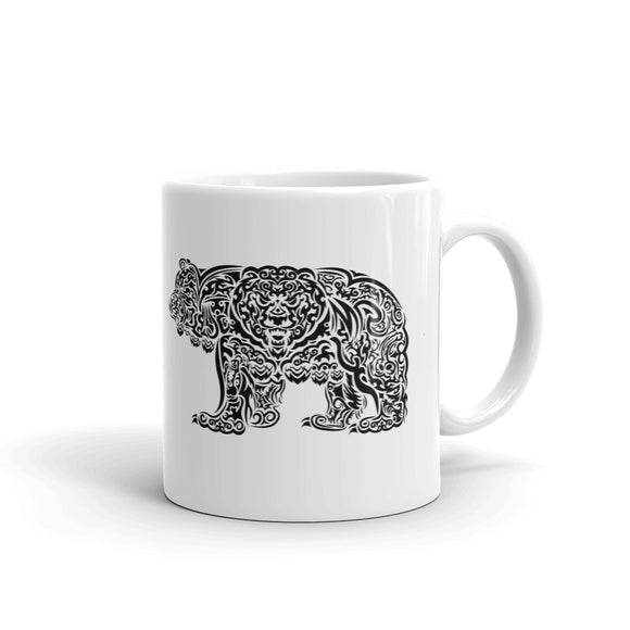 Tribal Grizzly Mug