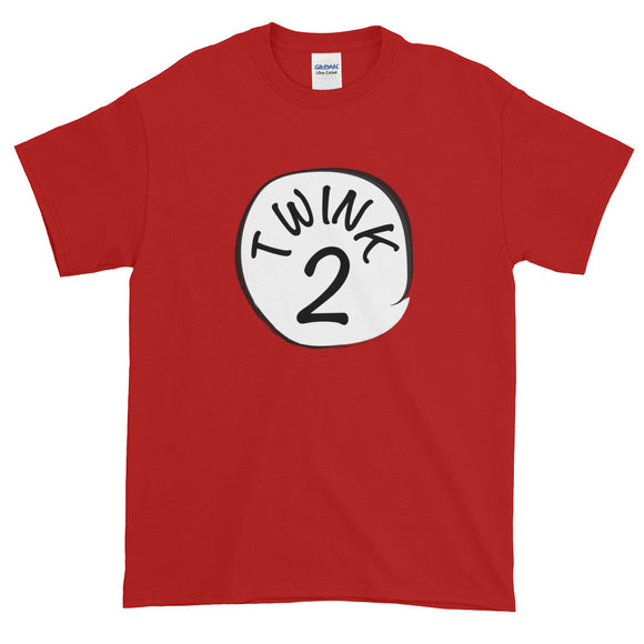 TWINK 2 Short-Sleeve T-Shirt - Two on 3rd
