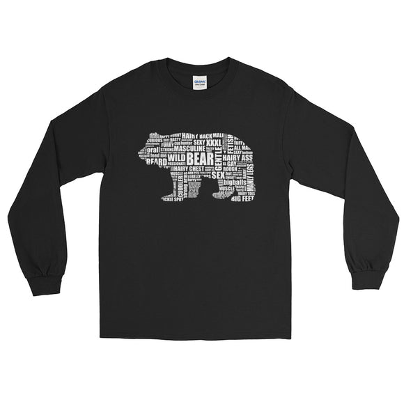 BEAR TALK Long Sleeve T-Shirt