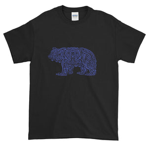 Navy Grizzly Tribal Extended Size Short-Sleeve T-Shirt - Two on 3rd