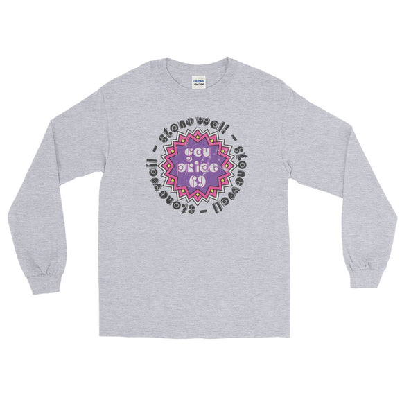 1969 PRIDE Long Sleeve T-Shirt - Two on 3rd