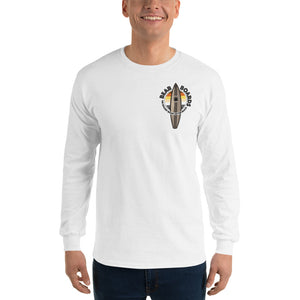 Bear Boards Long Sleeve T-Shirt - Print Front and Back - Two on 3rd