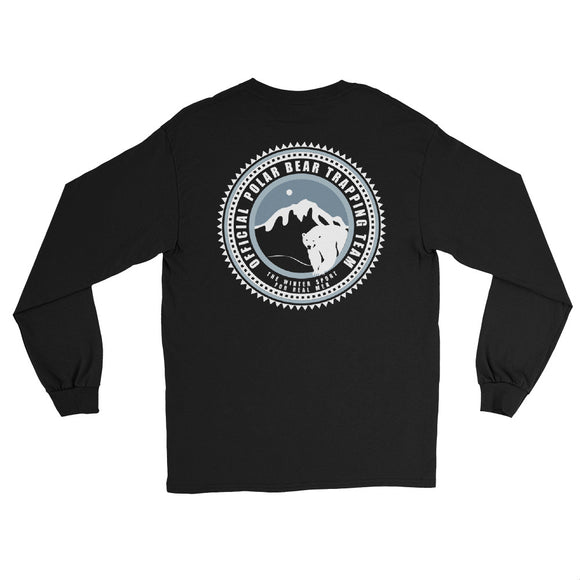 TRAPPING TEAM (BACK PRINT) Long Sleeve T-Shirt - Two on 3rd