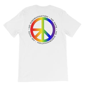 Pride NDNH Back Print Short-Sleeve Unisex T-Shirt - Two on 3rd