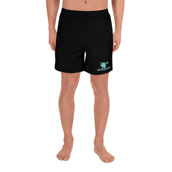 BEACH BOUND All-Over Print Men's Athletic Long Shorts - Two on 3rd