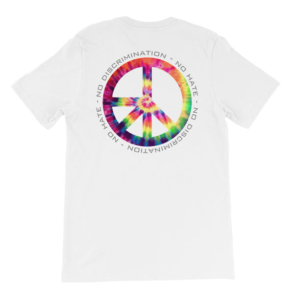 Tye Dye NDNH Back print Short-Sleeve Unisex T-Shirt - Two on 3rd