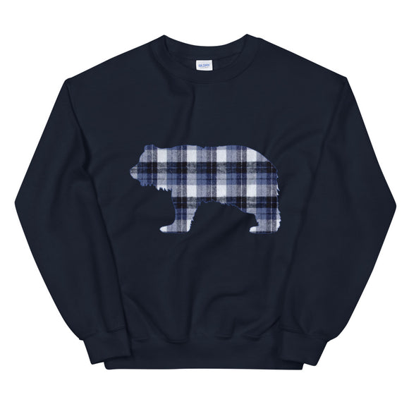 FLANNEL GRIZZLY BLUE Sweatshirt