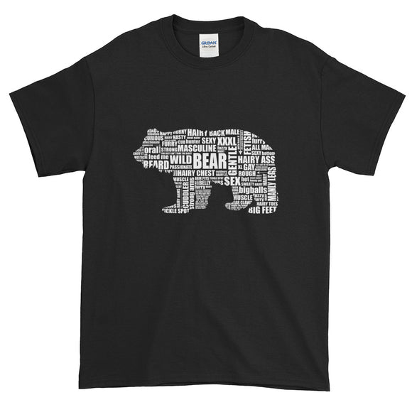 White Bear Talk Extended Size Short-Sleeve T-Shirt