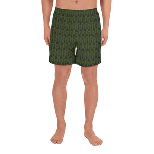 CAMMO All-Over Print Men's Athletic Long Shorts