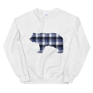 FLANNEL GRIZZLY BLUE Sweatshirt - Two on 3rd