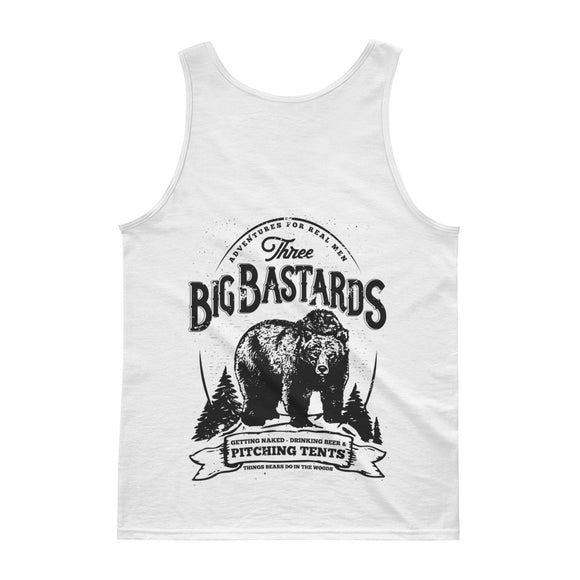 BIG BASTARDS Back Print Tank top - Two on 3rd