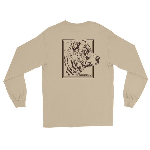 GRIZZLY Long Sleeve T-Shirt - Two on 3rd