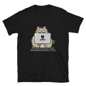THE INTERNET IS FOR PORN Short-Sleeve T-Shirt