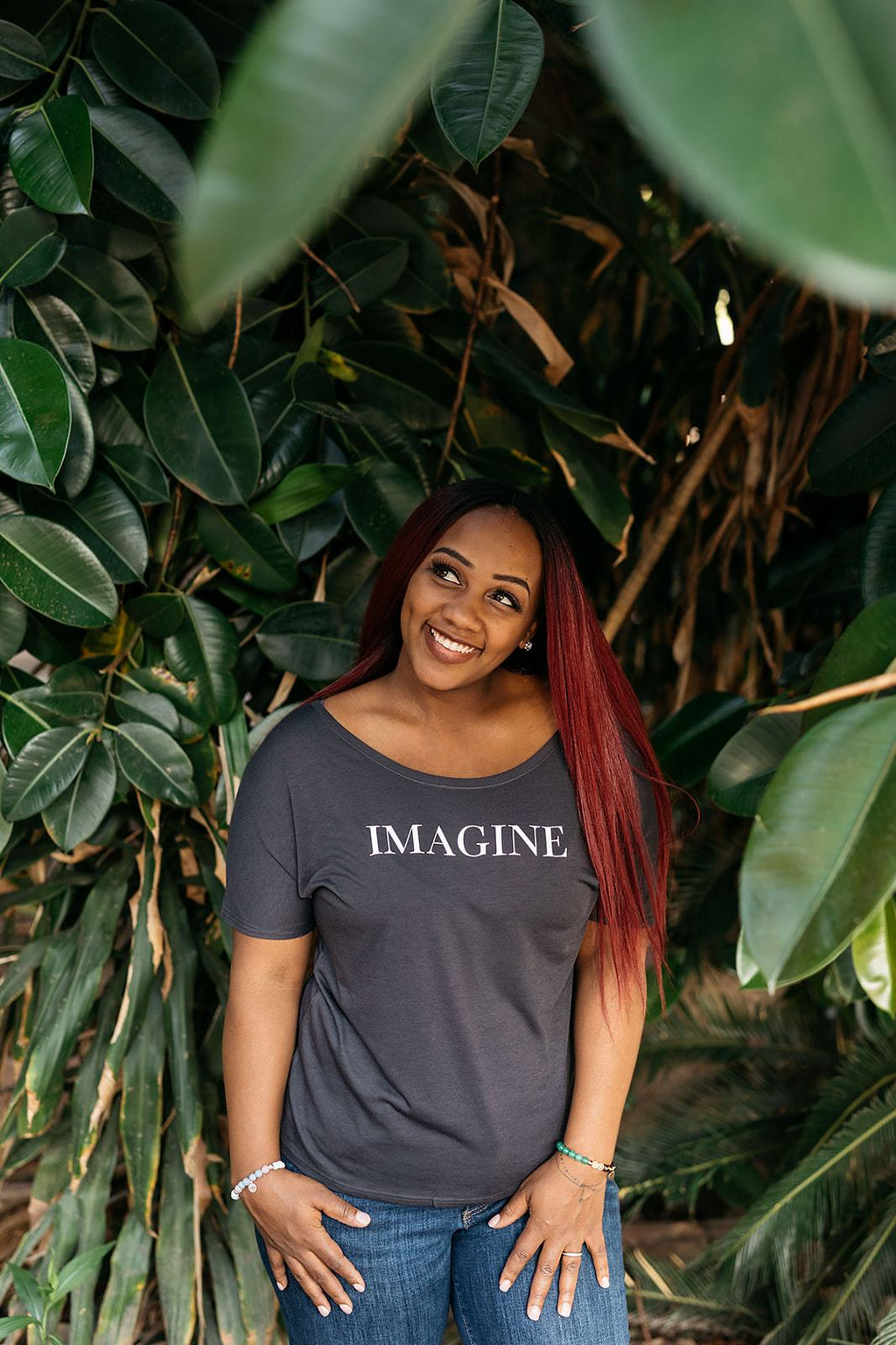 Imagine Tee - everlur spiritual clothing