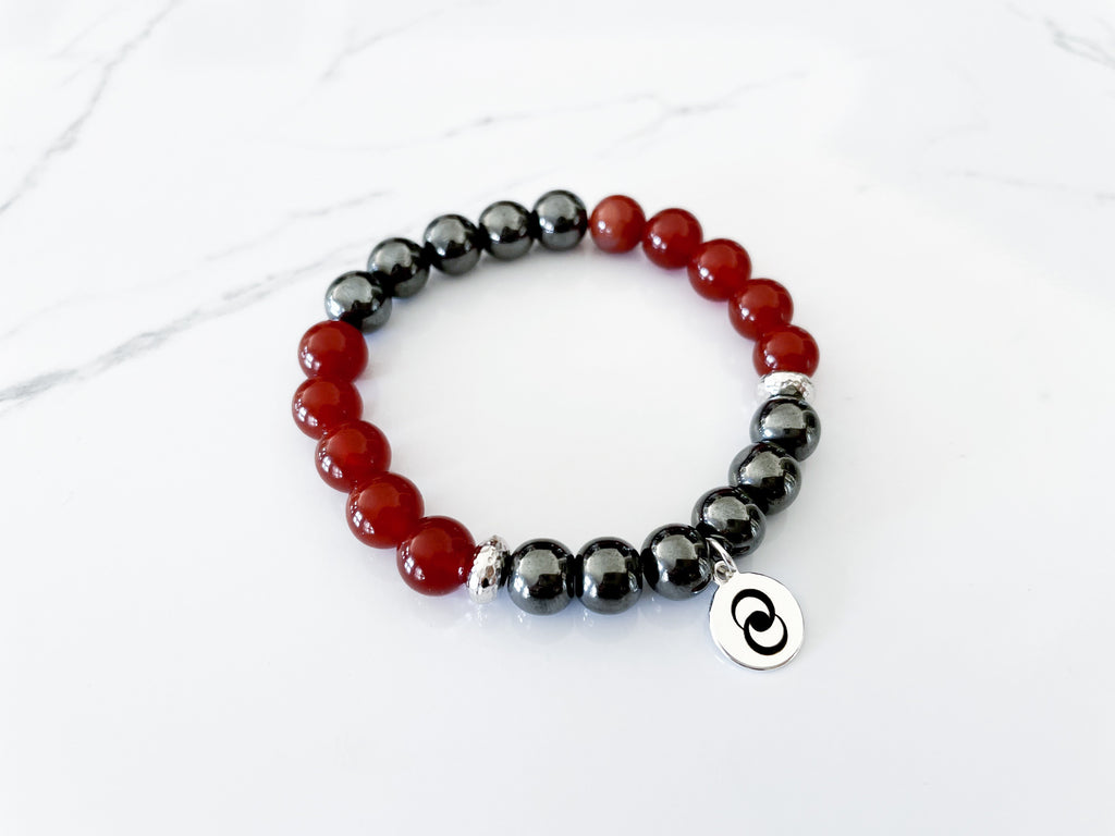 Inspiration & Motivation Gemstone Bracelet