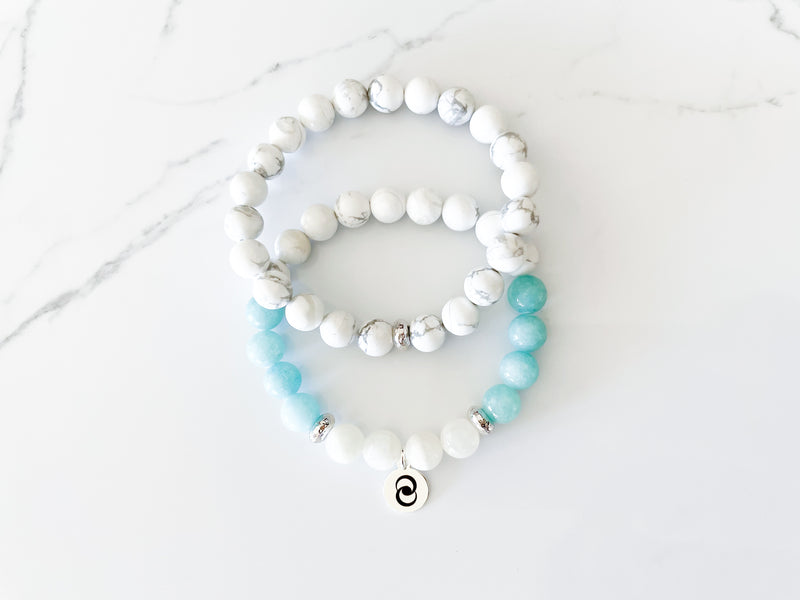 Whole-Hearted Community Crystal Bracelet