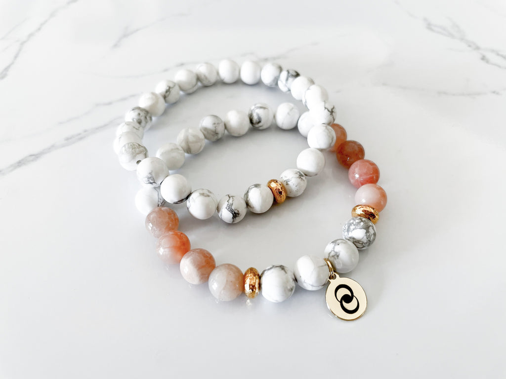 Confidence & Self-Worth Howlite Stack